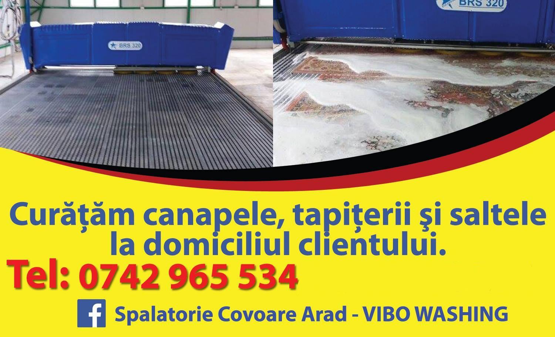 Spalatorie Covoare Arad